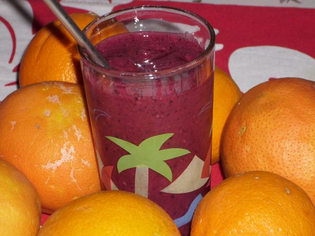Blueberry & Orange Smoothie