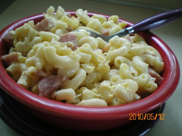 Macaroni and Cheese With Ham - Macaroni Met Ham En Kaas