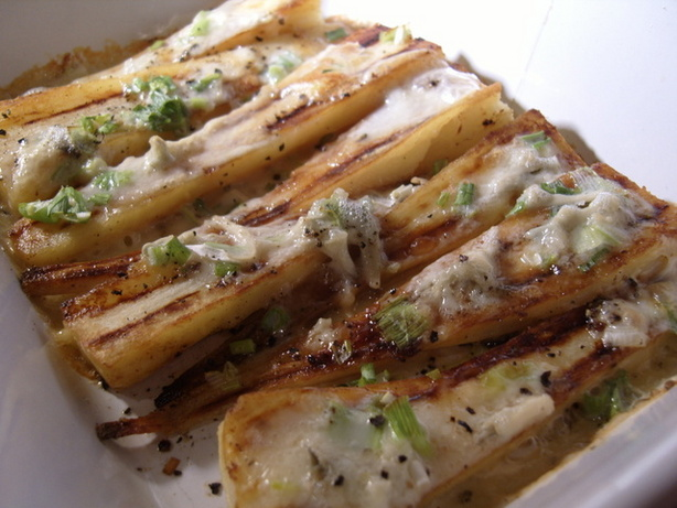 Parsnips With Gorgonzola