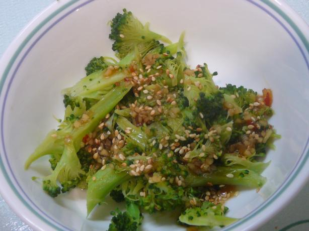 Sesame Garlic Broccoli S-C-J