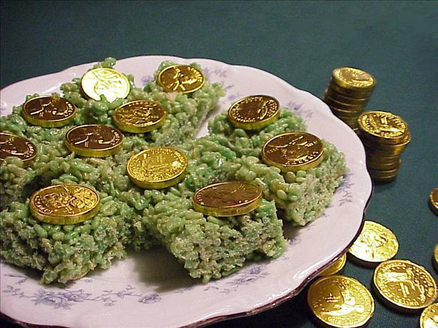 St. Patrick's Day Crispy Treats