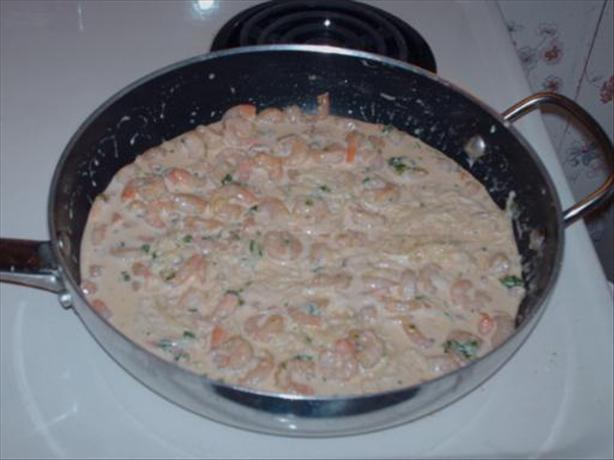 Shrimp and Pasta With Creole Cream Sauce