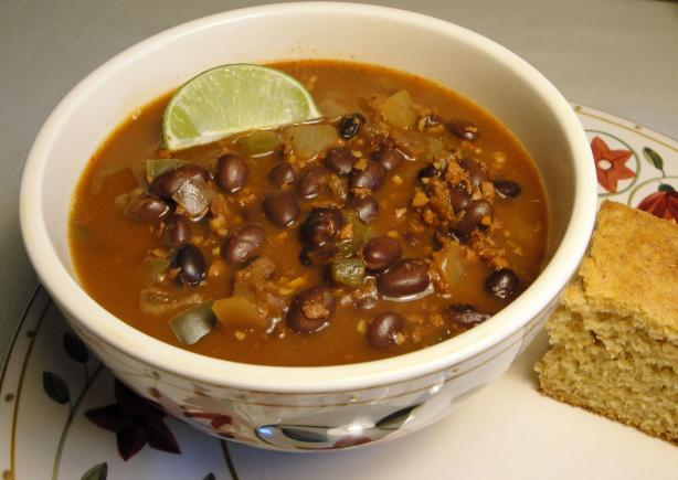 Chorizo Black Bean Soup