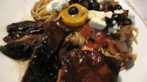 Grilled Portabella Mushroom