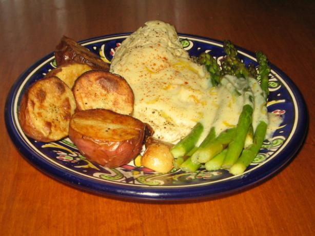 Roasted Chicken, New Potatoes & Asparagus