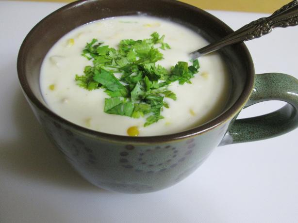 Quick and Easy Corn-Crab Chowder