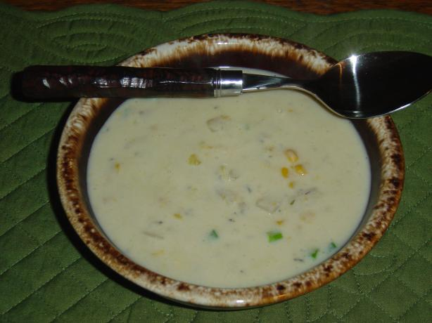 Easy Corn Clam Chowder (Lower Fat)