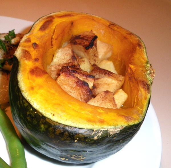 Acorn Squash And Apples