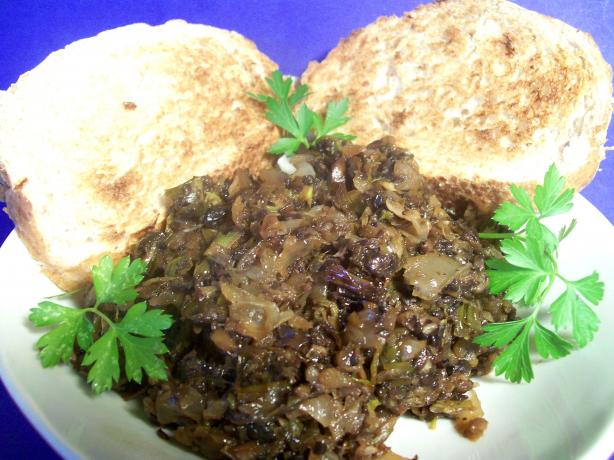 Caramelised Onion and Mushroom Spread