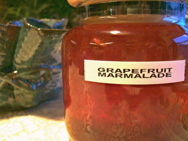 Quick Grapefruit Marmalade