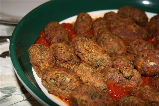 Crispy Artichoke Meatballs