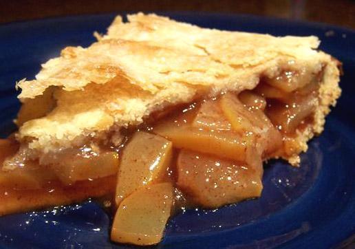 Zucchini Mock Apple Pie