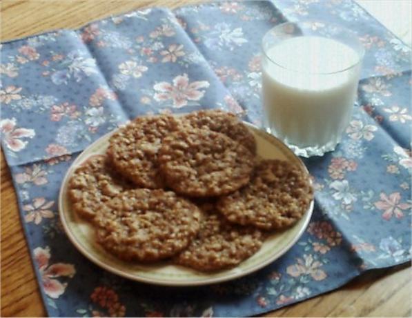 Maple Oat Chewies (Cookies)