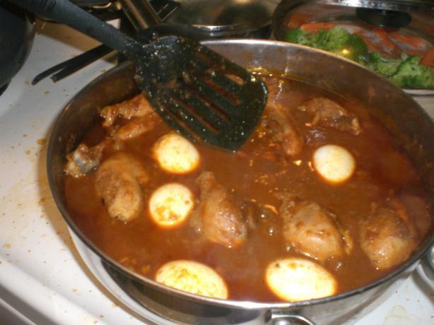 Ethiopian Doro Wat (chicken Stew)