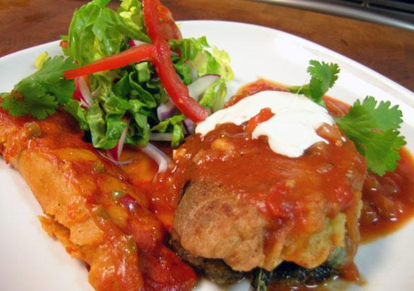 Ole! Authentic Chiles Rellenos