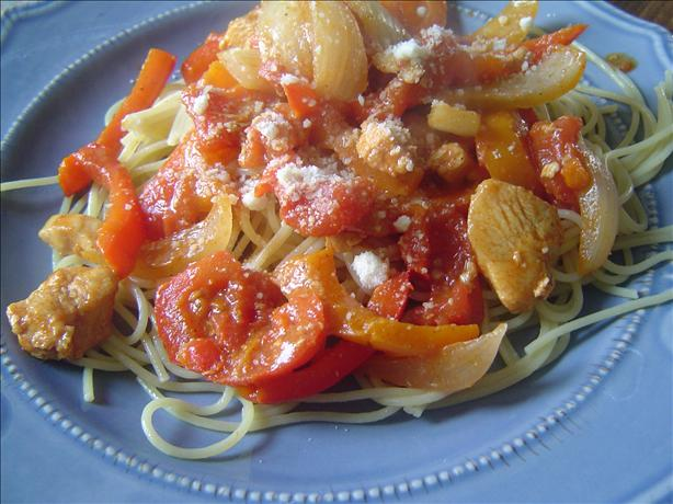 Spicy Chicken Pepper Pasta
