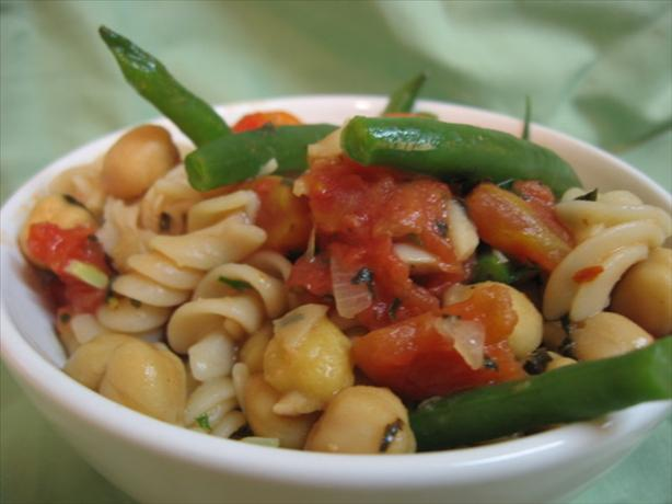 Double-Bean Pasta With Tomatoes