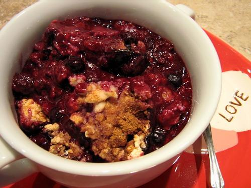 Slow Berry Cobbler