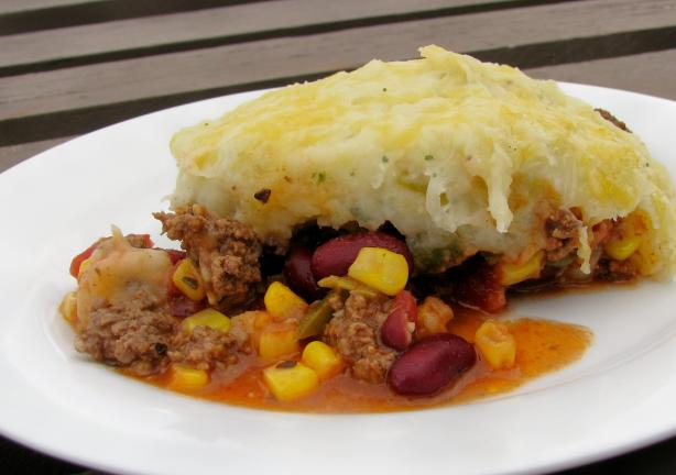 Tex Mex Shepherd's Pie