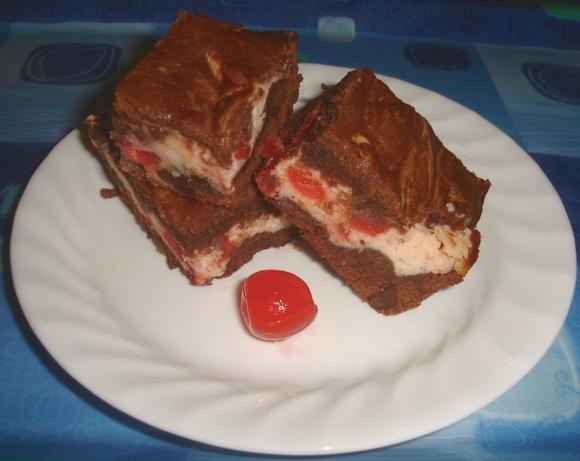 Merry Cherry Brownies