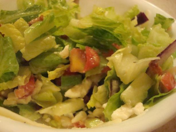 Greek Salad With Bacon