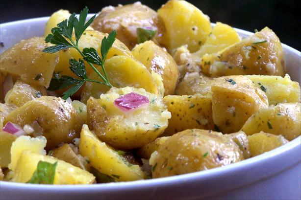 Barefoot Contessa's Herb Potato Salad