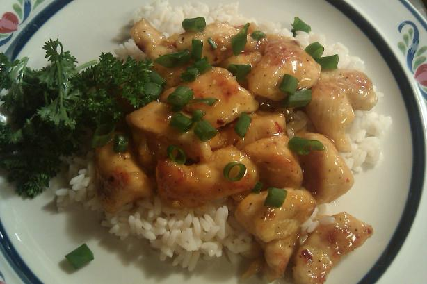 Spicy Honey-Orange Chicken