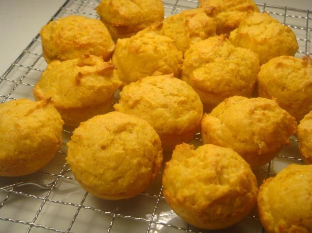 Virtually Fat Free Mini Pumpkin Muffins