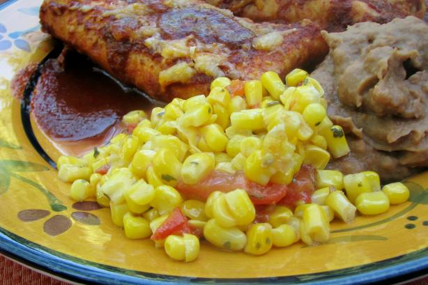 Southwest Sauteed Corn