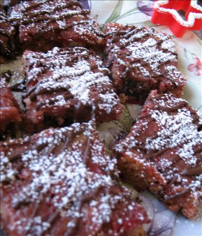 Chocolate Cherry Cordial Bars