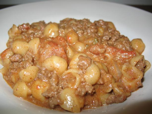 Easy Chili Cheeseburger Mac