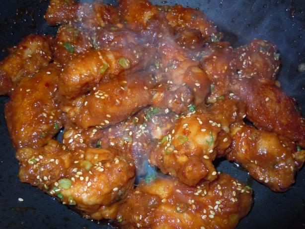 Korean Spicy Chicken Wings - Restaurant Recipe!