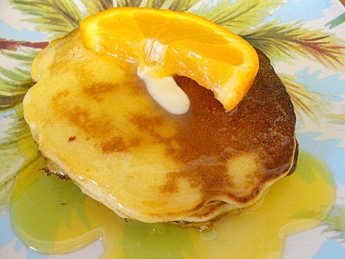 Orange Dessert Pancakes