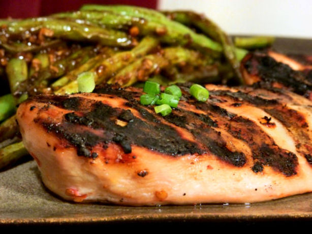 Grilled Maple-Chile Chicken