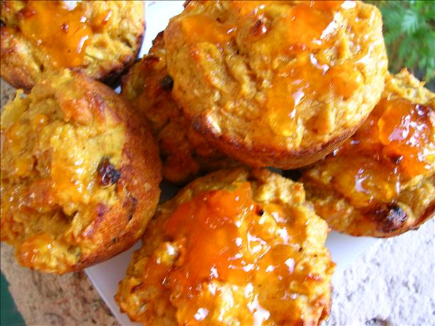 Pumpkin Fruit and Nut Muffins