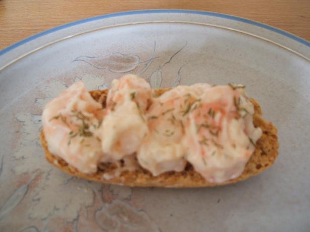 Horseradish Shrimp (Skagenröra Med Pepparrot)