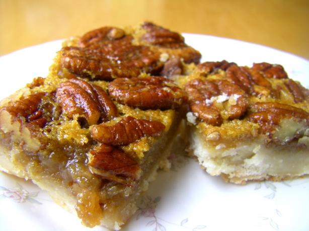 Margo's Maple Pecan Squares