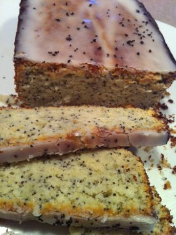 German Lemon Poppy Seed Cake