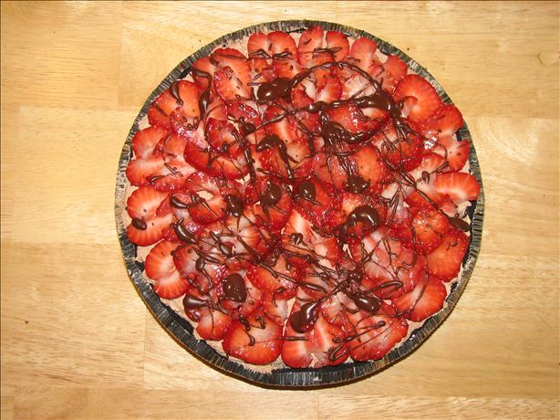 Miss Aimee B's Chocolate Strawberry Pie