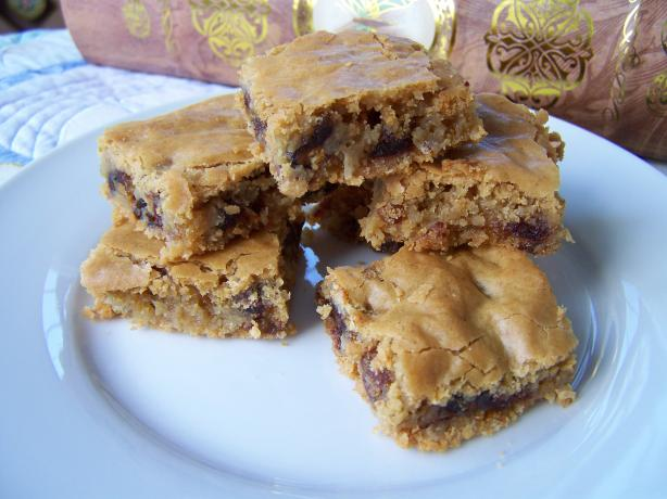 Orange Coconut Date Squares