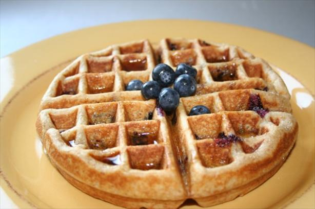 Blueberry Heaven Wheat Pancakes/waffles