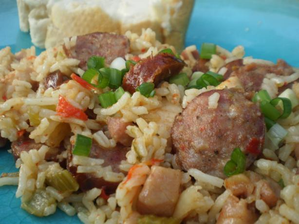 Andouille and Chicken Jambalaya