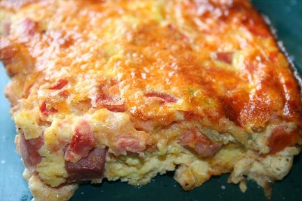 Spicy Baked Omelet