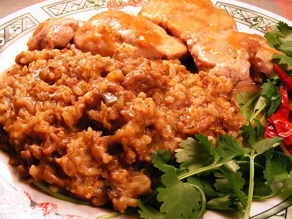 Mimi's Dirty Brown Rice