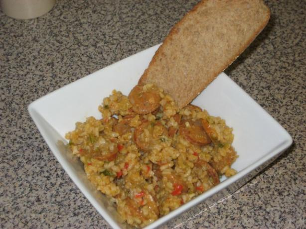 Cory's Spicy Dirty Rice