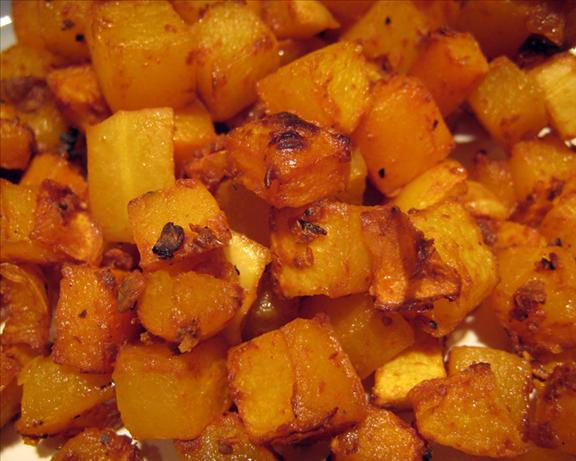 Chipotle Maple Roasted Squash
