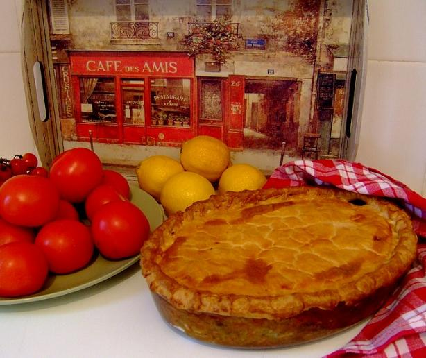 Chicken Pie, Traditional South African Style