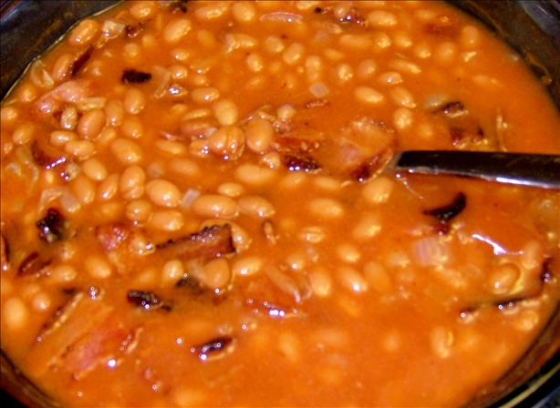 Winnie's Baked Beans (Awesome!)