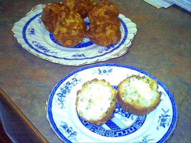 Cheddar Onion Muffins
