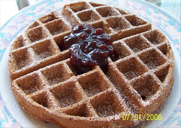 Cinnamon Buttermilk Waffles